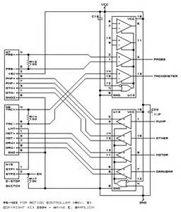 cnc controller motion schematics rev d