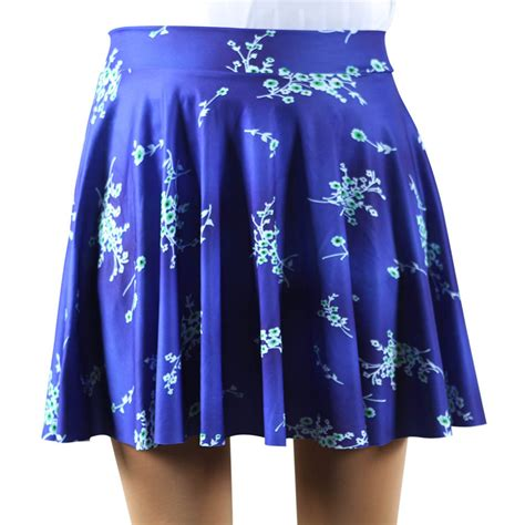 Flower Patterned Mini Skirt | new arrival womens mini skirt short new fashion flower
