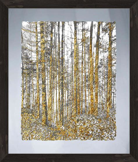 gold tree glass wall framed ptmimages