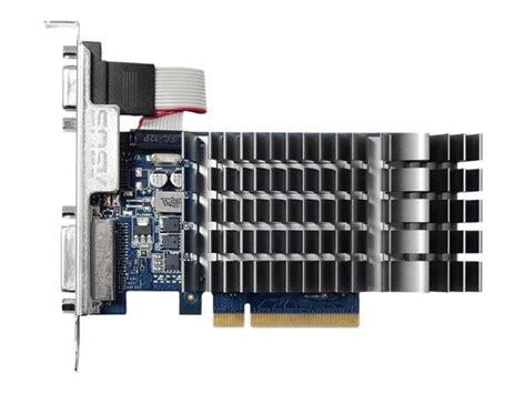 Vga Asus Gt 710 1gb Ddr3 64 Bit asus geforce gt 710 1gb ddr3 vga dvi d hdmi pci e graphics