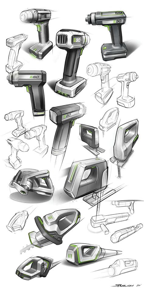 sketchbook tools power tool sketches on behance