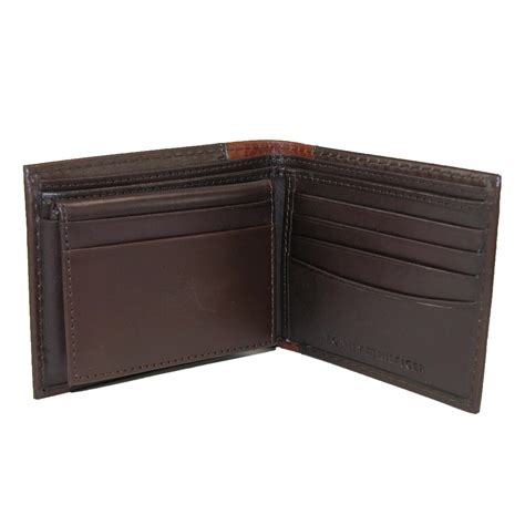 And Bifold Wallet mens leather melton bifold passcase wallet by