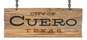 cuero electric utility departments cuero tx official website