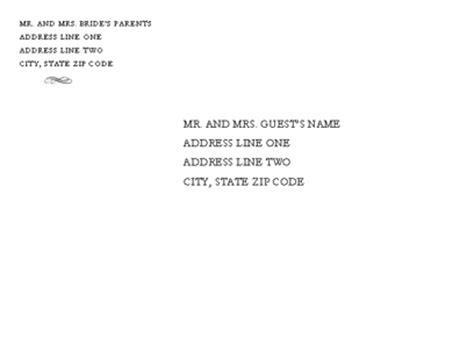 wedding invitation envelope template word envelopes templates wedding invitation envelope genteel