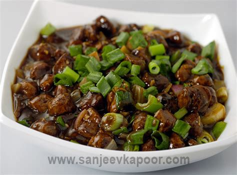 vegetarian recipes with soya chunks how to make soya chunks manchurian recipe by masterchef