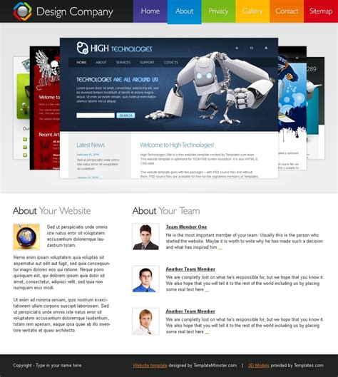 if a site has a large number of junk pages in the index is the free hmtl5 css3 template design company