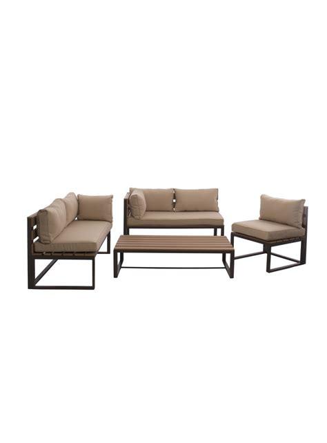 table basse exterieur 65 ensemble lagoa bancs chaise et table basse pour ext 233 rieur