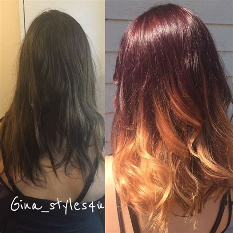 mahogany curls ombre 17 best images about hairdos i did on pinterest curls