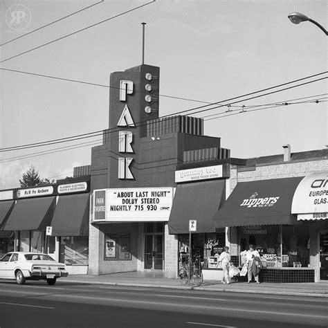 cineplex the park the park theatre vancouver 1986 187 raymond parker photography