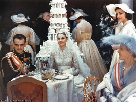 grace kelly s wedding to to prince rainier of monaco is