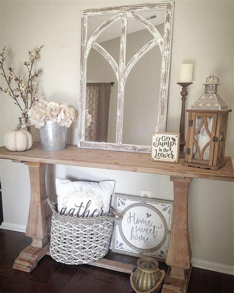autumn farmhouse table home sweet homedecor farmhouse console table farmhouse