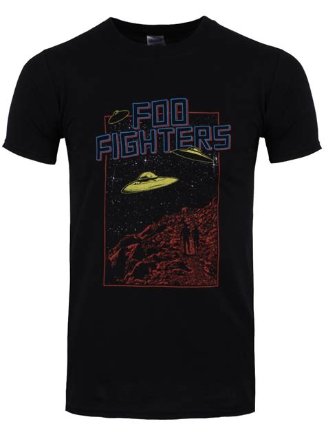 T Shirt Foo Fighters Zero X Store foo fighters ufo 2015 tour s black t shirt buy at grindstore