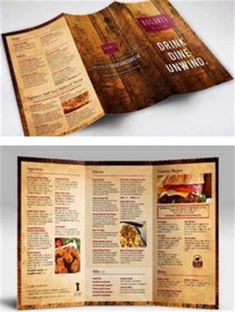 desain brosur cafe desain brosur restoran contoh flyer menu cafe dan