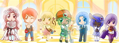 Anime 7 Heavenly Virtues by The Seven Heavenly Virtues By Bunnyb133 On Deviantart