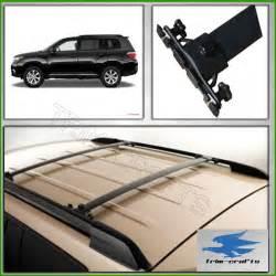 08 11 toyota highlander oe style black roof rack cross