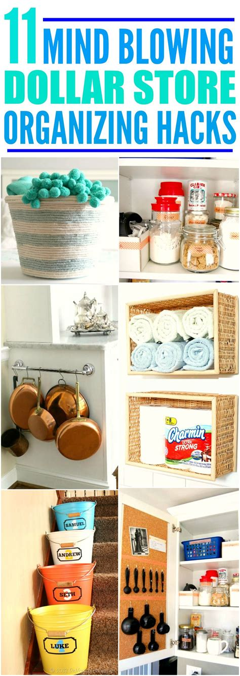 organizing hacks 11 dollar store organization hacks that ll make life so
