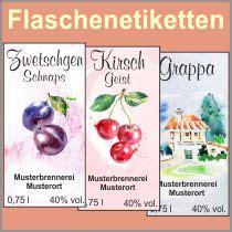 Flaschenetiketten Selbst Gestalten Schnaps by Flaschenetiketten Zwetschgenschnaps 4 Gr 246 223 En M 246 Glich