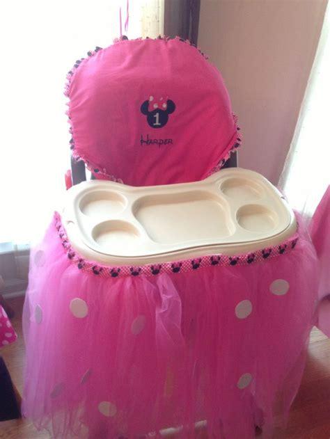 high chair tutu high chair tutu s minnie mouse 1st birthday