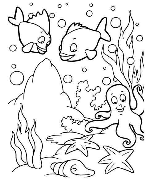 sea creatures coloring pages sea creature coloring pages az coloring pages