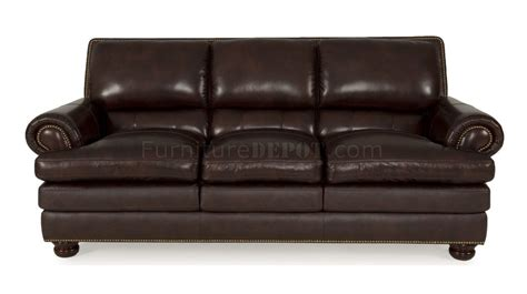 burgundy leather loveseat 8294 roswell sofa loveseat in burgundy by leather italia