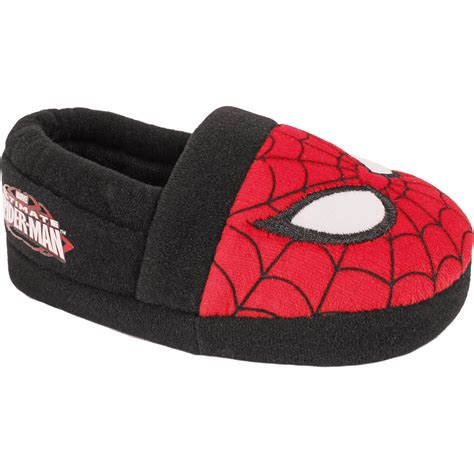 spider slippers upc 079092802892 spider 174 boys quot a line quot slippers