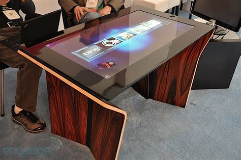 Microsoft Coffee Table Computer Surface 2 0 Now Shipping Packing Pixelsense And Gorilla Glass