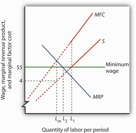 economics of minimum wage imperfectly competitive markets for factors of production