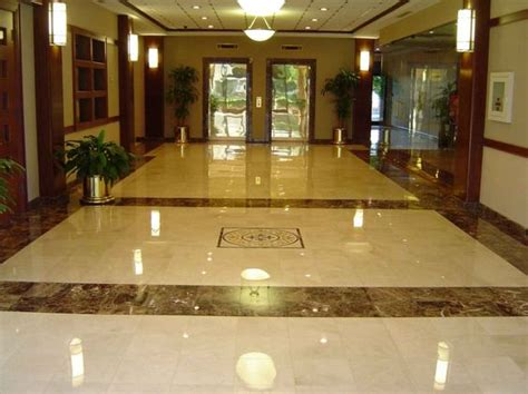 beautiful living room tile marble floor design for