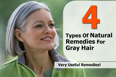 Types Of Grey Hair by 4 Types Of Remedies For Gray Hair