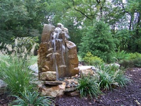 outdoor rock garden boulder water fountains  sale