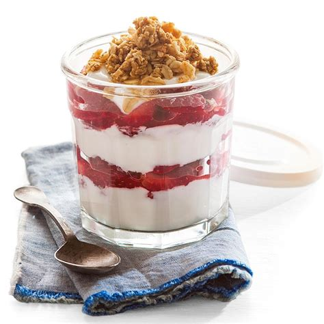 strawberry yogurt parfait recipe eatingwell