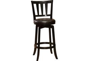 presque isle black counter height stool barstools black