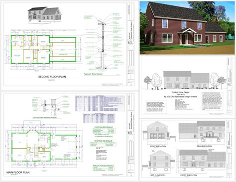 autocad for home design home deco plans