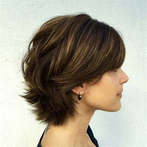 short layer for thick hair for 60 year old 60 classy short haircuts and hairstyles for thick hair
