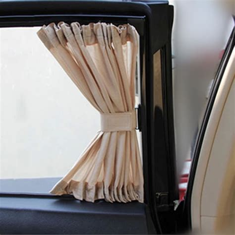 car window curtains for sale hot sale 2pcs 50l 50x45cm car sunshade window curtain