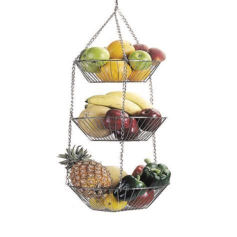 kitchencraft wire vegetable hanging basket