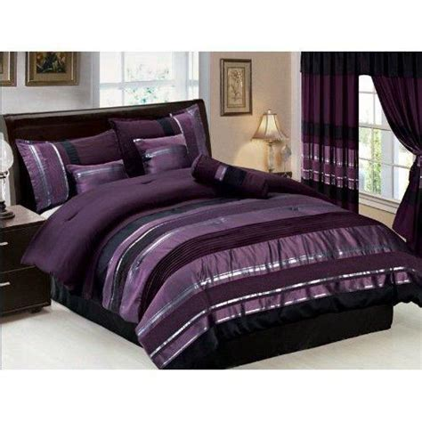 best bedsheets on amazon 7 pc modern purple black silver chenille from amazon home