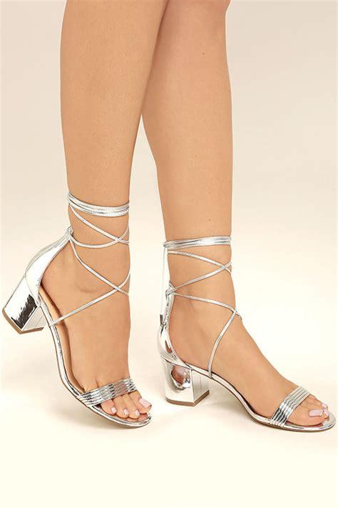 silver lace high heels daya by zendaya salem silver block heels silver lace