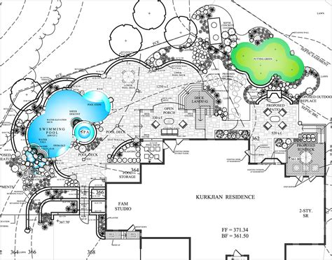 pool plan darnestown md resort pool waterfalls land water