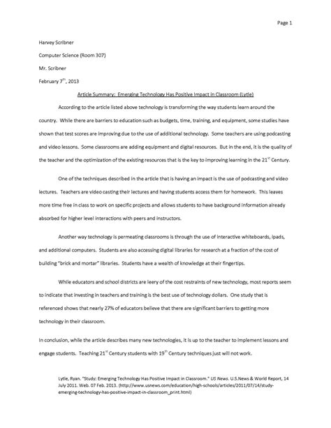 Exle Mla Essay by Essay Format College Essay Exles Thesis Statement Structure Of College Research Paper Format