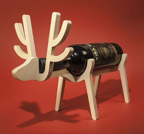 reindeer wine rack