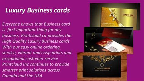 High Quality Business Cards Toronto