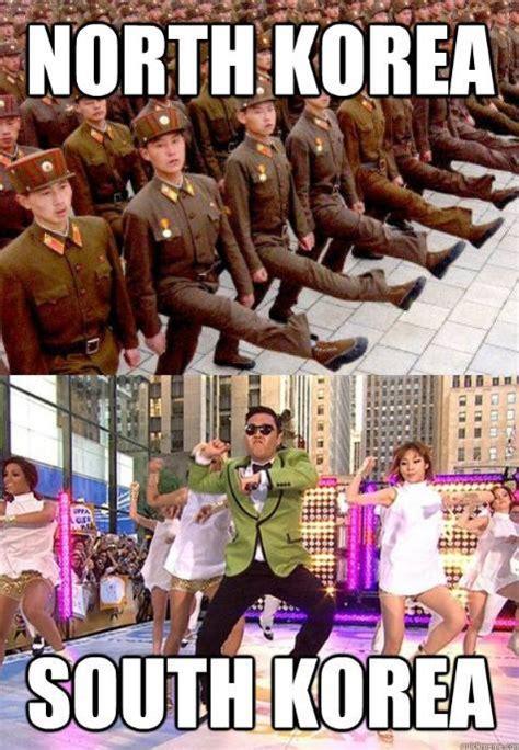 North Korea South Korea Meme - north korea vs south korea psy gangnam style know