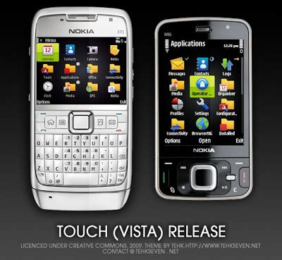 vista themes mobile9 i touch themes