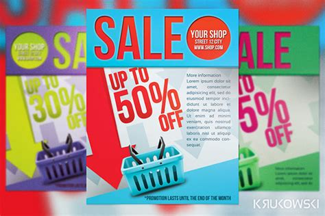 sales flyer template 75 free psd format download free