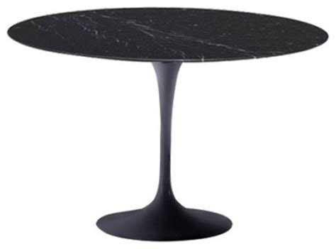 32 inch tulip table mod imports flower marble top dining table in