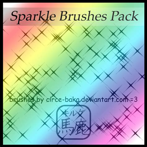 paint tool sai glitter brush sparkle brushes pack by launachtyr on deviantart
