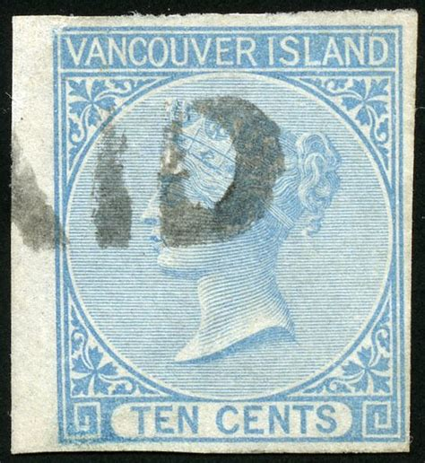 libro vancouver island itm r v british columbia 4 queen victoria 1865 10 162 used very fine with certificate u vf 002