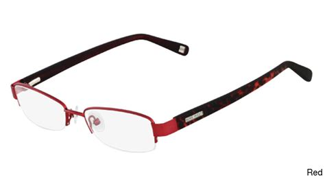 buy nine west nw1009 semi rimless half frame