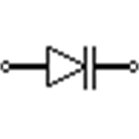 symbol of varactor diode electrical symbols electronic symbols schematic symbols